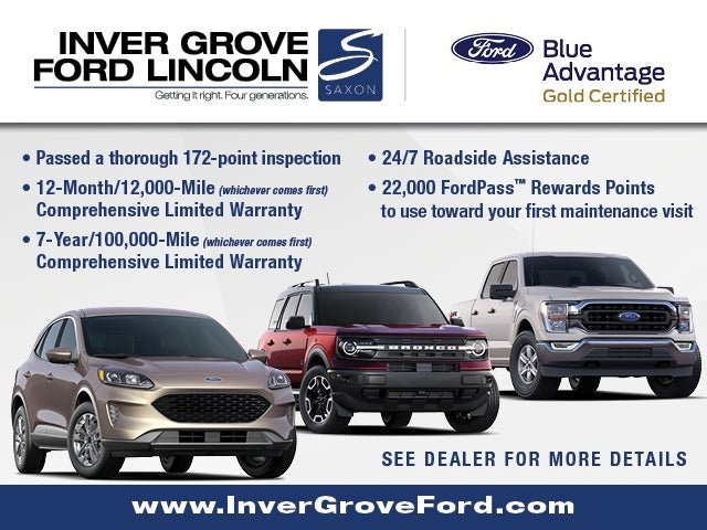 Certified 2019 Ford Edge SEL with VIN 2FMPK4J95KBC62994 for sale in Inver Grove, Minnesota